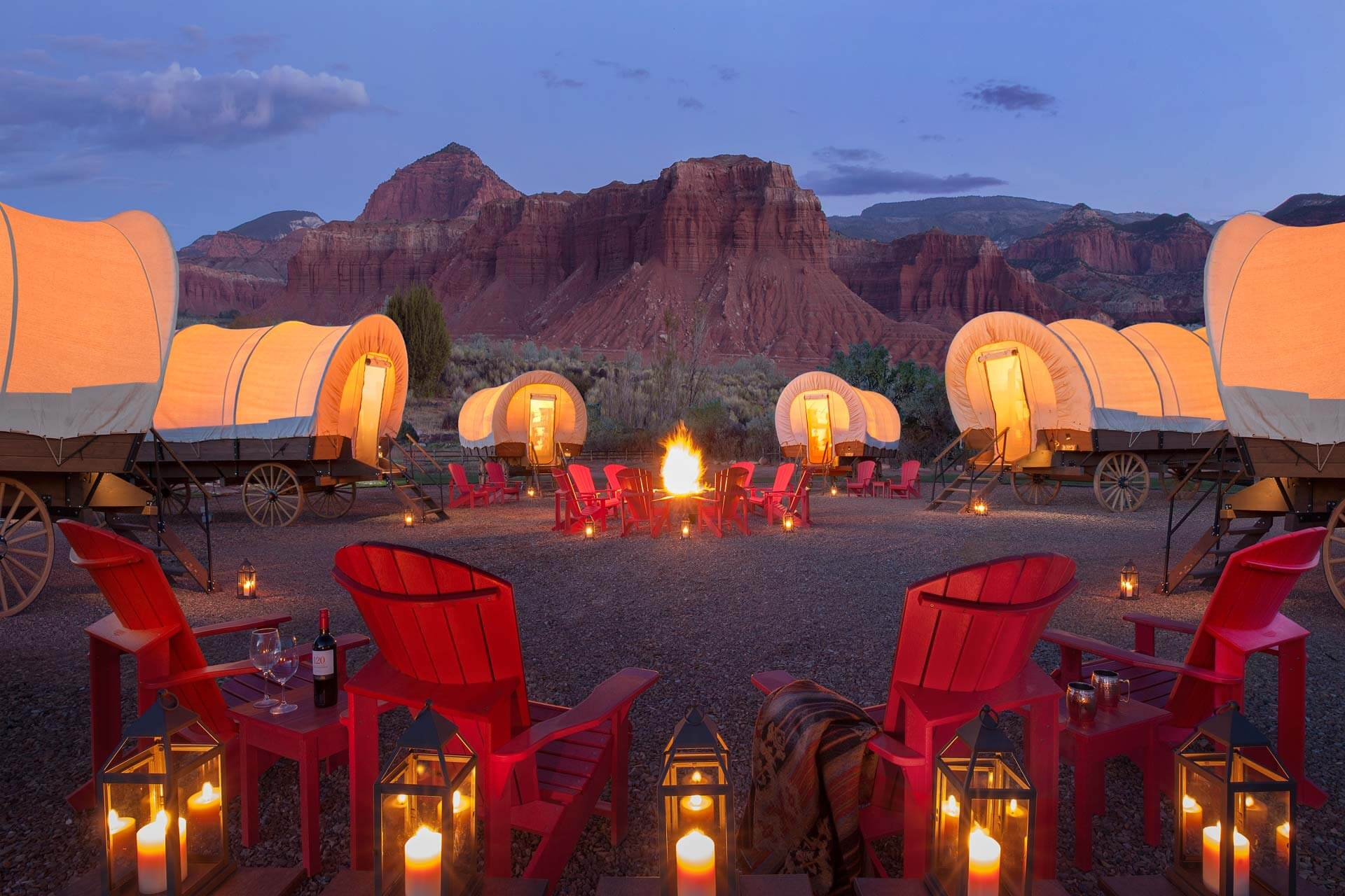 Covered Wagons - Capitol Reef Resort